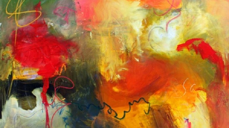 Paula Jones Follows  Abstract Art to Create Inspirational Ideas