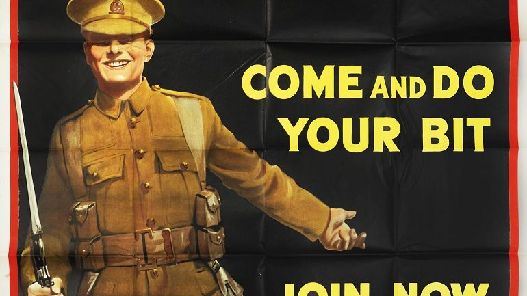 War Recruitment Posters Memorialized at Bonhams Art Sale