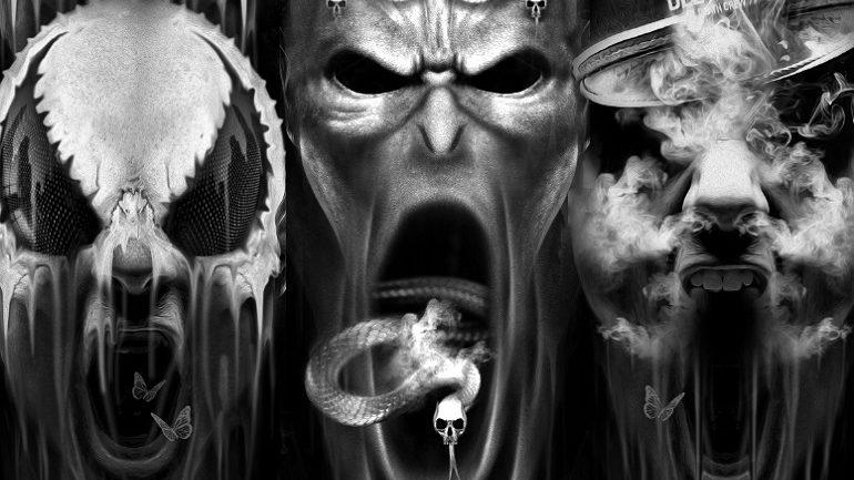 Digital Art by Illustrator Obery Nicolas Reveals Gory Fantasies