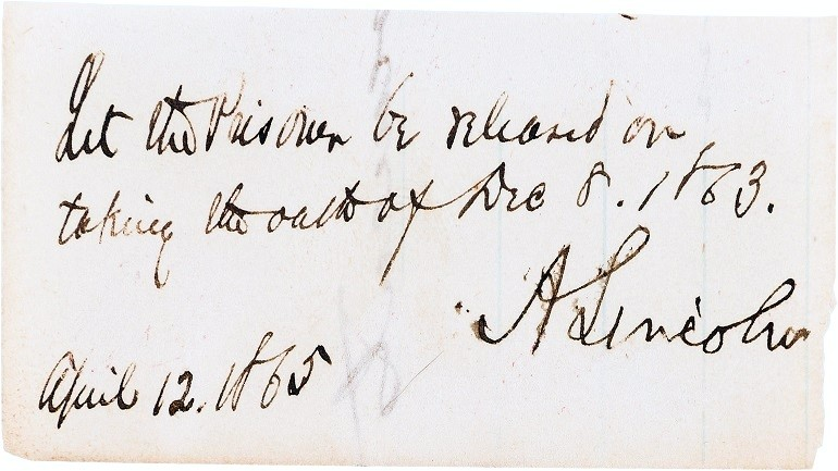 Abraham Lincoln's Hair, Autographs and Rare Letters Go on Sale