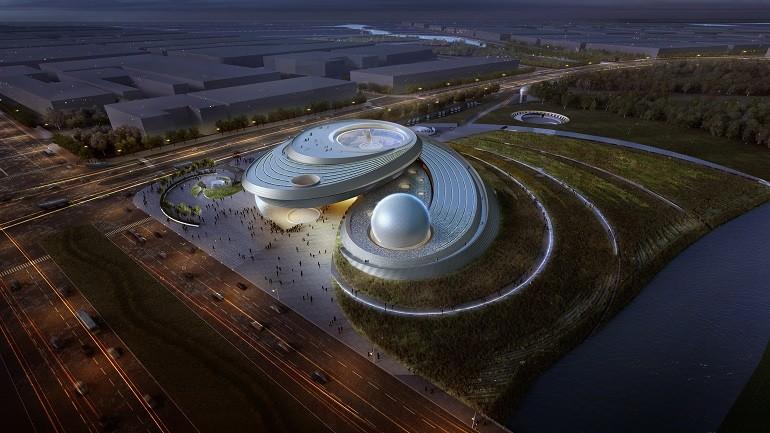 Ennead Architects Shanghai Planetarium Museum Design