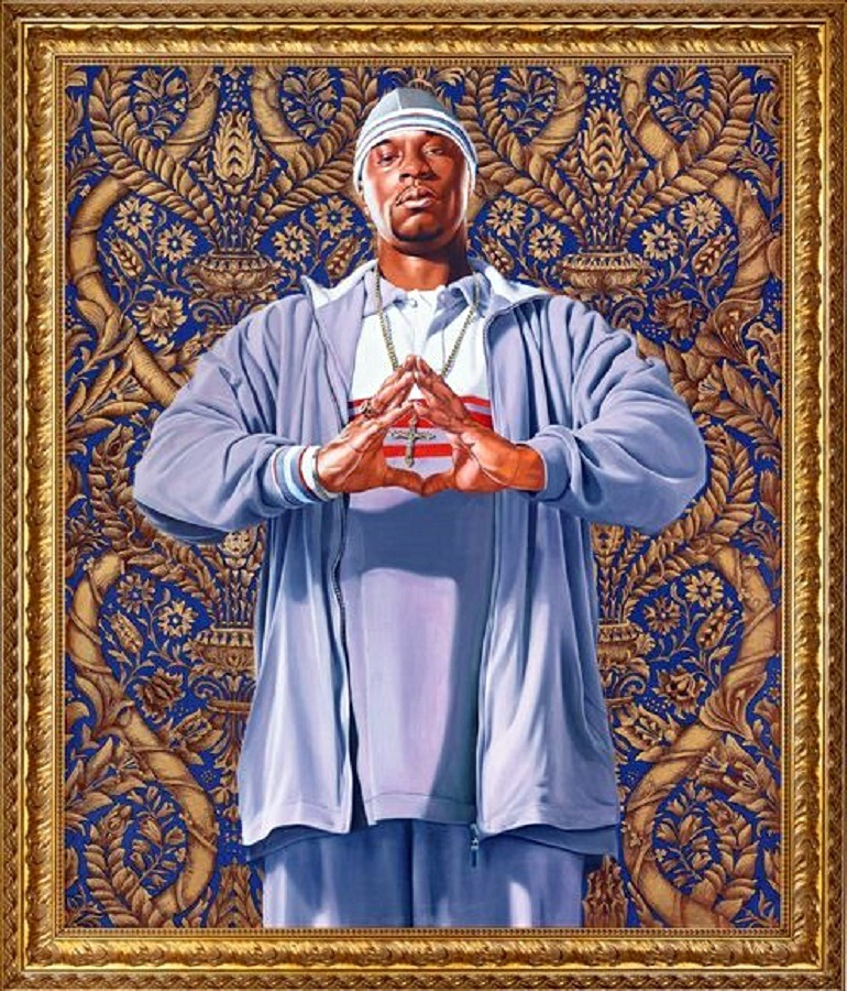 Image: Baptism of Clovis by Kehinde Wiley, one of the young American artists making great impact in the global art sphere