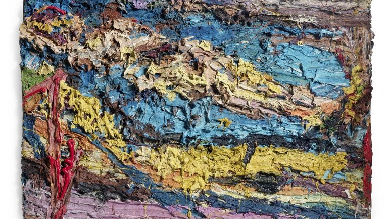 Frank Auerbach Art Tops Bonhams Post-War and Contemporary Sale