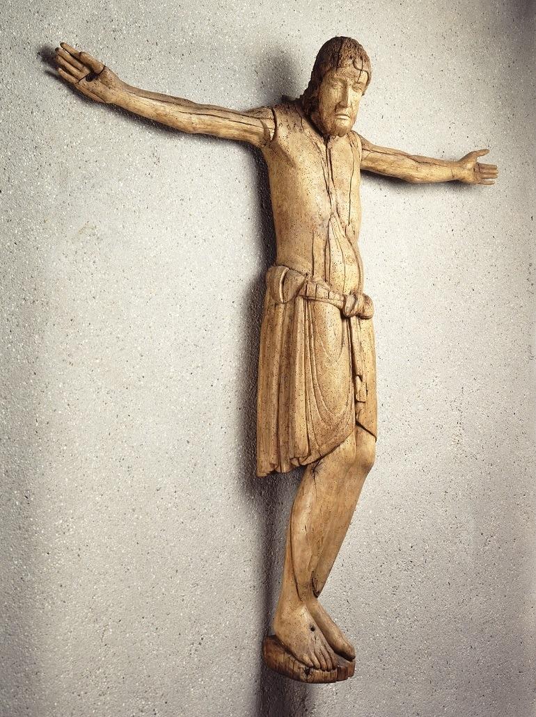 Image: Ringelheim Crucifix German one of the Medieval Treasures from Hildesheim