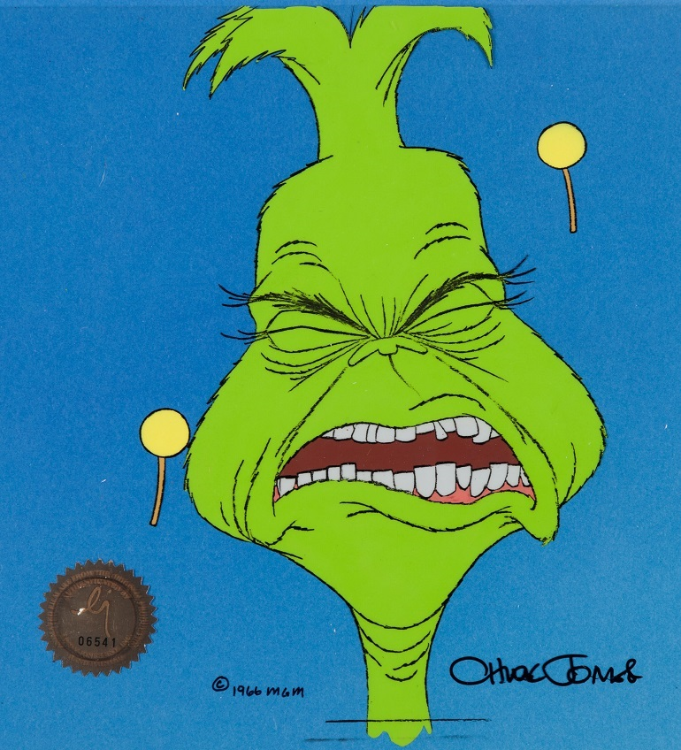 imagedoctor seuss how the grinch stole christmas production cel and storyboard drawing mgm - How Grinch Stole Christmas