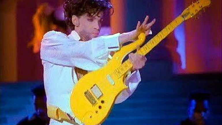 Prince's Yellow Cloud Guitar Expected to Make Auction Record