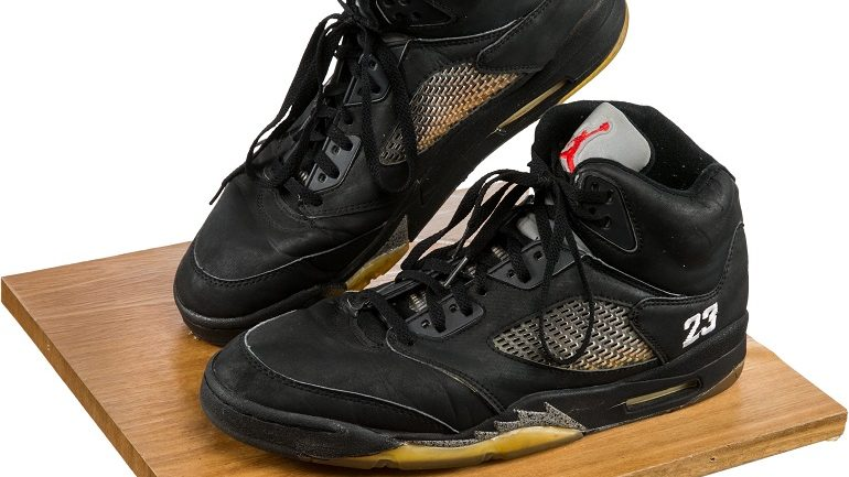 Whitney Houston Nike Air Jordan Sneakers Sold for $20,000