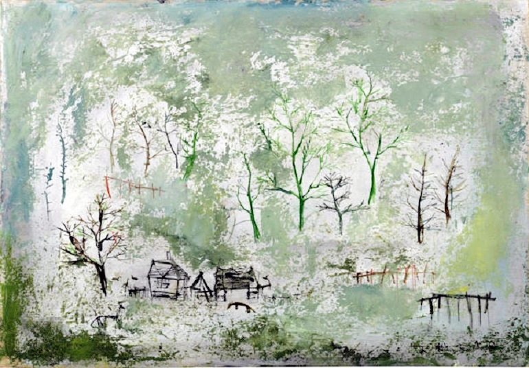 Image: Untitled 1949, by Zao Wou-Ki was a major highlight at Bonhams Post-War and Contemporary art auction where Andy Warhol art top sales