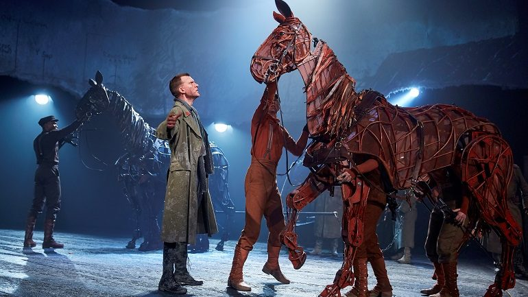 War Horse Puppets Ride to Auction for Charity