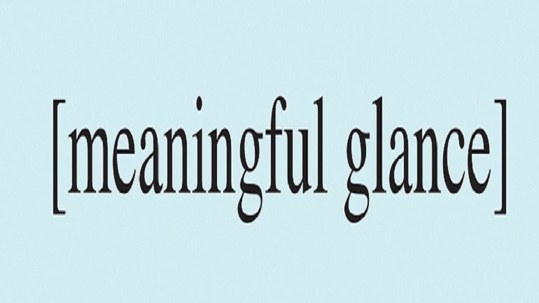 Image: Meaningful Glance 2016 by Stephanie Brooks, is one the works selected for the Chicago Billboard Art Project