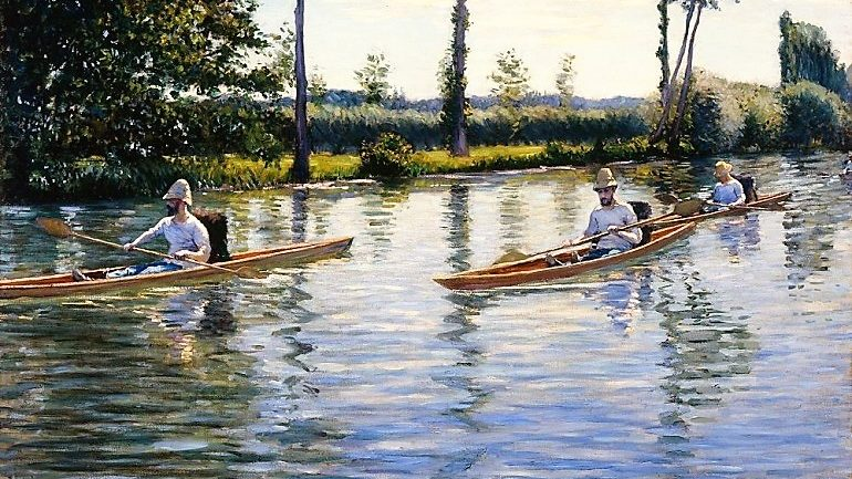 Impressionists Love of Water, Boats and Art Revealed