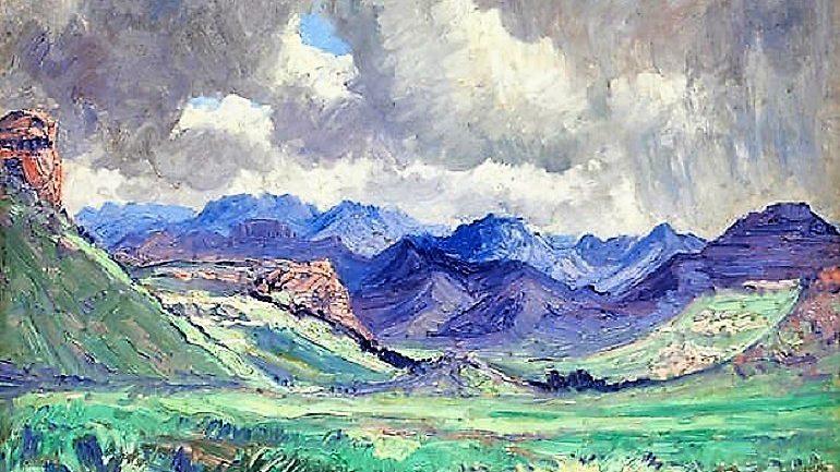 6 Amazing Landscape Paintings by Pierneef Sold at Bonhams