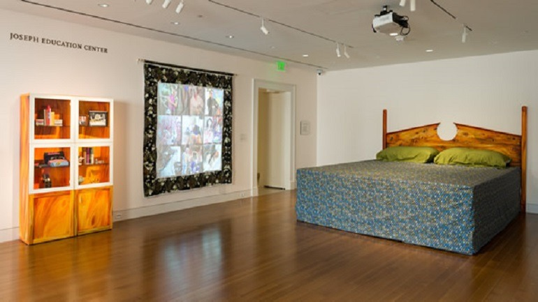 Image: Queer Interiors by Jaimes Mayhew and Rahne Alexander at the Baltimore Museum of Art is one of the works on display as part of the Pride Month celebrations in galleries and museums