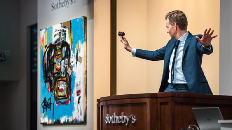 New Video Shows How a Basquiat Sold for $110.5 Million