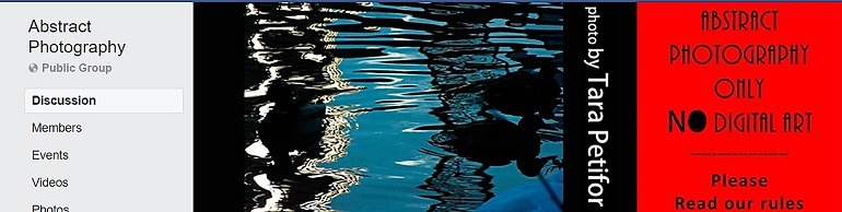 Image: Photograph of river and a sign on the banner of the Abstract Photography Group, one of the Facebook Photography Groups that provide Photography tutorials and photography tips for aspiring and amateur photographers