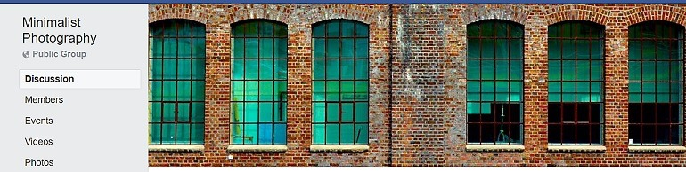 Image: Photograph of a brick wall on the banner of Minimalist Photography Group, one of the Facebook Photography Groups that provide Photography tutorials and photography tips for aspiring and amateur photographers