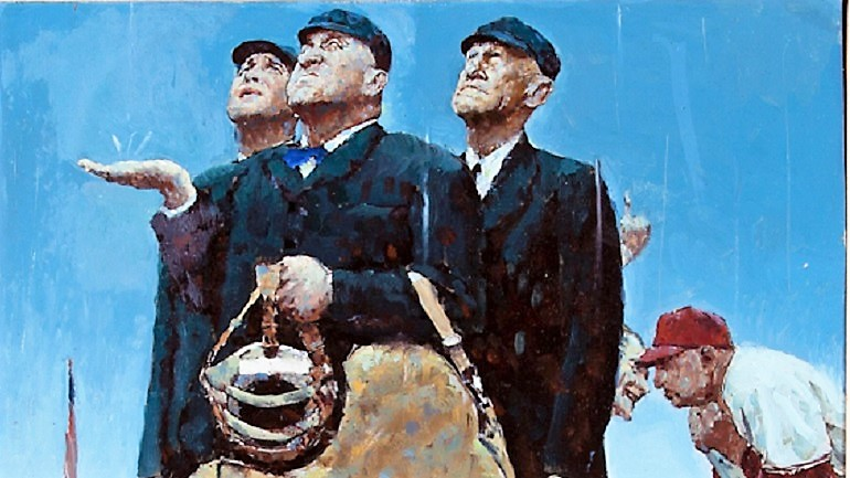 Norman Rockwell Painting Sells for $1.68M at Sports Auction