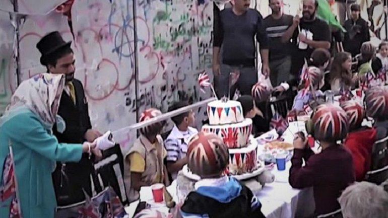 New Banksy Work in Bethlehem Criticizes British Imperialism