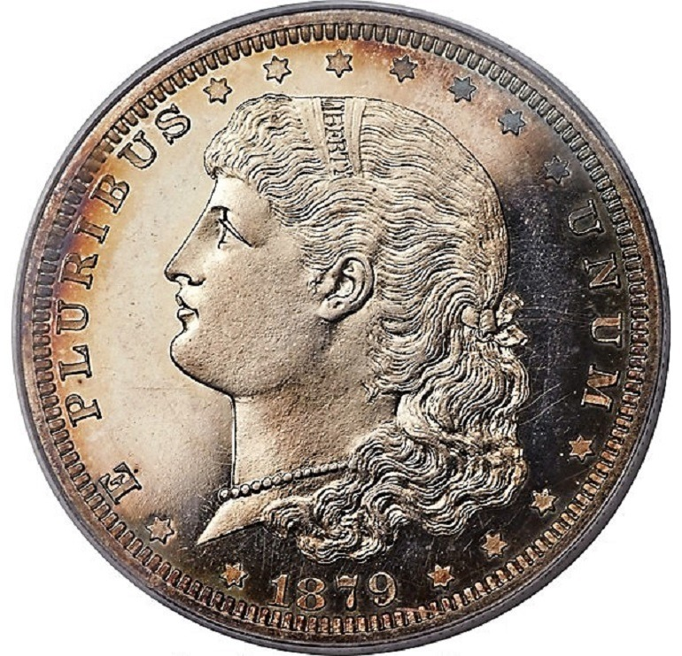 Image: 1879-Schoolgirl Dollar is one of the rare coins at Heritage Auctions that Numismatists will get the opportunity to collect during the Florida United Numismatists Convention in Tampa