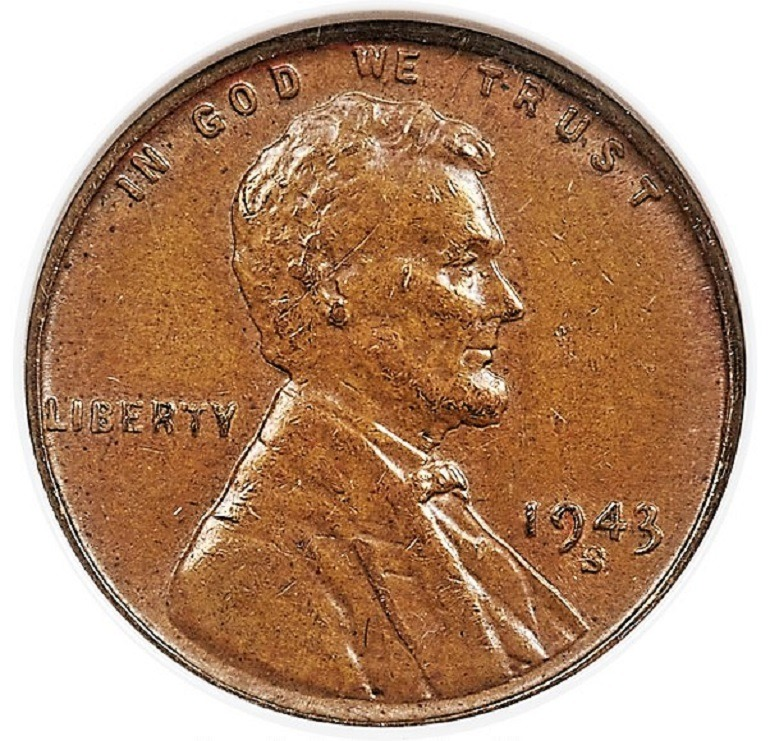 Image: 1943 S- bronze- Lincoln cent is one of the rare coins from the Kerry Rudin Collection at Heritage Auctions that Numismatists will get the opportunity to collect during the Florida United Numismatists Convention in Tampa