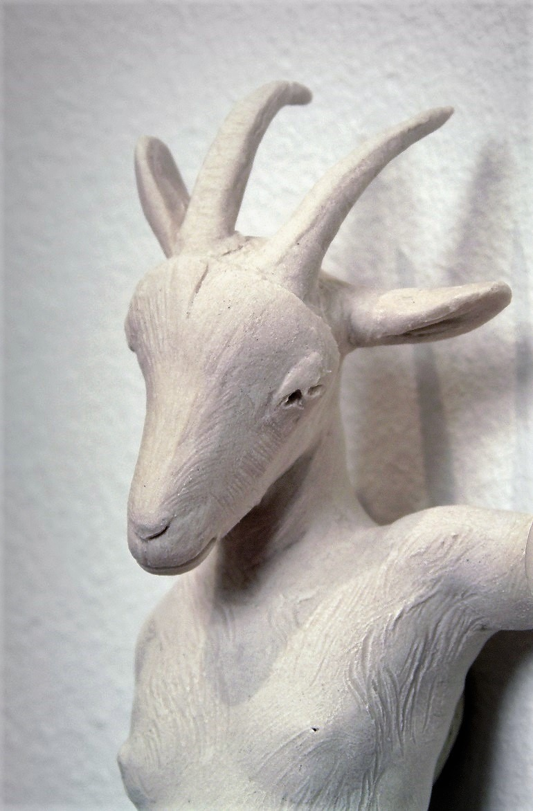 Image: Messenger, a porcelain relief sculpture by Robin Whiteman represented by Exhibit A is one of the works sold during the recent Aqua Art Miami